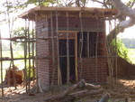 Construction of the Water Pump room in progress