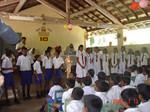 Students at Delwagura School